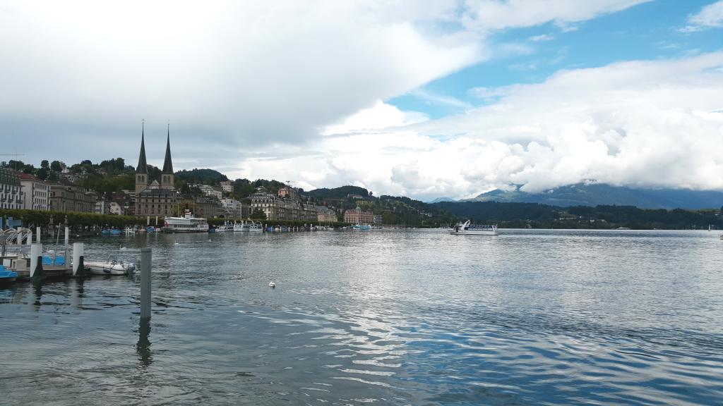 Hofkirche & Lake Lucerne