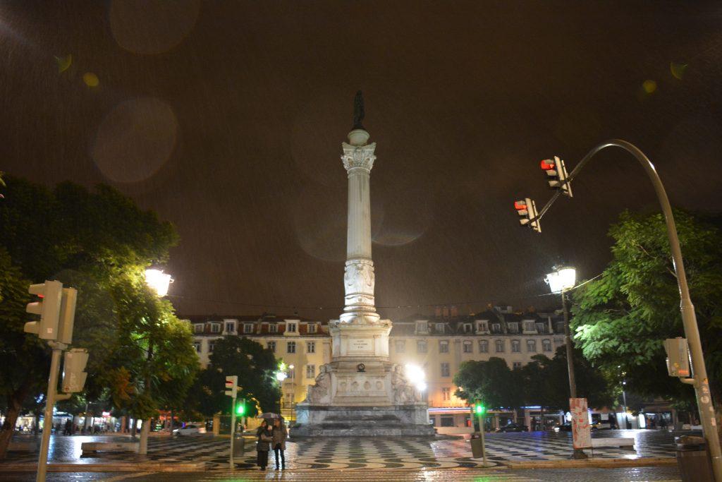D. Pedro IV Statue